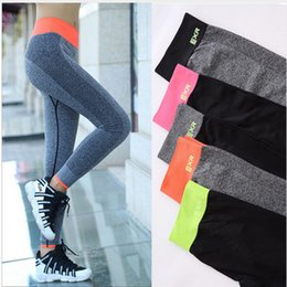 Yoga Pants Xs Canada - Yoga Pants Women Feamale Quick drying High Fitness Elasticity Outdoors Sports Leggings Running Sportswear Accessories Pants