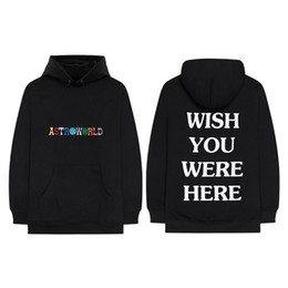 China AW18 Brand New Kanye West Astroworld HoodieHigh Quality Embroidery Sweatshirts Designer Pullover Hoodies Hip Hop Hoodie supplier brand new hoodie suppliers