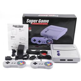 Discount game console 16 bit - 16 Bit Super Mini SFC TV Game Console For Newest Hot Sell 64 SNES Super 16bit Game Entertainment System Consoles Best Qu