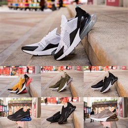 621cab78a3b 2018 Vapormax 270 TN Plus Running Shoes Classic Outdoor Run Shoes Vapor  Black White Sport Shock Sneakers Men requin Olive Silver In Metallic