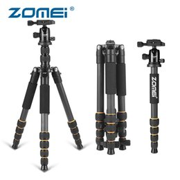 $enCountryForm.capitalKeyWord Australia - ZOMEI Q666C Carbon Fiber Tripod Lightweight Travel Stand Camera Accessories 360 Ball Head for Canon Sony Nikon Samsung DSLR Para