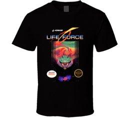 Hayat Gücü Kutusu Sanat Sistemi Komple Nes Video Oyun T Shirt Erkek Tee Fan Hediye Yeni