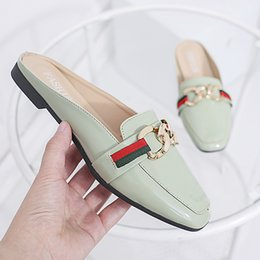 lady slipper footwear 2019 - PHYANIC Mules Leisure 2018 designer ladies slides shoes outdoor fashions women slipper spring summer footwear female sho