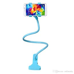 Rotating Tablet Stand Australia - Hot sell Durable Universal 360 Rotating Flexible Long Arm Cell Phone Mounts Holders stand lazy bed desktop tablet car selfie mount bracket