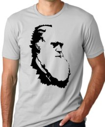 theory tops 2019 - Charles Darwin evolution theory tshirt size discout hot new top free shipping tshirt cheap theory tops