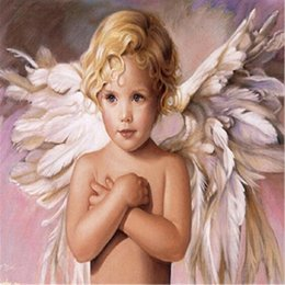 $enCountryForm.capitalKeyWord Australia - 5D Diy diamond painting, diamond embroidery, home decoration, crafts, mosaic, cross stitch, fairy, little boy, angel wings,