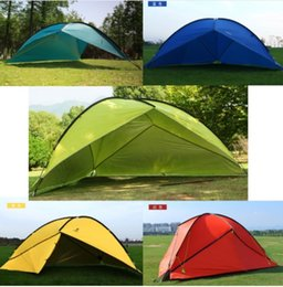 Outdoor Sheds NZ - Hillman Outdoor Large Space Triangle Pergola Camping Tent Family Beach Sunshade Party Awning 1 Wall 2 Wall 3 Wall Tent UV Shed
