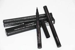 Matte eyeliner pens online shopping - NEW PEN EYELINER BLACK Waterproof Makeup Eyeliner Penultimate Eye Liner Pinceau Eye liner Liquid Pen ml pc