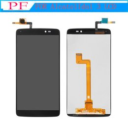 Discount one touch alcatel lcd screen - High Quality For Alcatel One Touch Idol 3 5.5inch 6045 OT6045 LCD Display Touch Screen Digitizer Assembly Original Repla