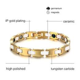 $enCountryForm.capitalKeyWord NZ - Christmas gift mixed order men's tungsten carbide magnetic bracelets magnet hematite bracelet healthcare ceramic jewels jewelry 002