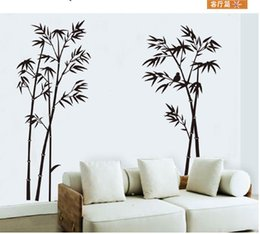 DIY Art Black Bamboo Quote Wall Stickers Mural Sticker For Home Office Bedroom Decor Wallpaper Discount
