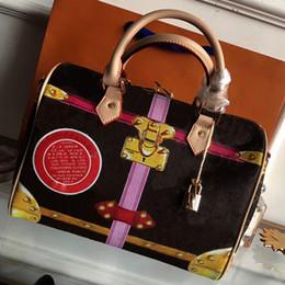 $enCountryForm.capitalKeyWord Canada - bags handbags women famous brands Boston tote bag PVC leather handbag France luxury classic bag Graffiti check handbag M41386 M41108