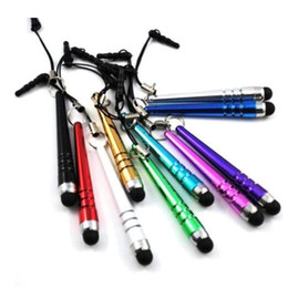 Touch pen baseball online shopping - Newest Mini Stylus Pen Baseball touch pen with Dust proof function Portable Design