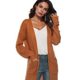 $enCountryForm.capitalKeyWord UK - Hot sale Fashion Women Autumn Long Sleeve Open Cape Cardigan Coat Casual Ladies girls Kimono Jacket women's clothing drop ship