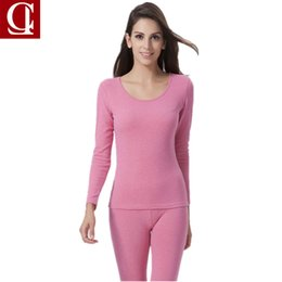 1658567bbf8 CILER 2017 New Women winter thermal underwear suit Ladies Cotton Plus Thick thermal  underwear women clothing female long johns