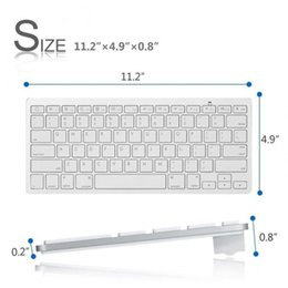 Apples keyboArd online shopping - Ultra slim Wireless Keyboard Bluetooth for Apple iPad iPhone Series Mac Book Samsung Phones PC Computer XXM