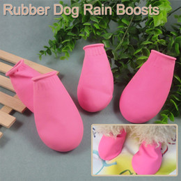 $enCountryForm.capitalKeyWord Canada - Free shipping 4pcs set waterproof dog boots super soft disposable dog boots S M L 4 colours for your choose