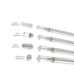 Meilleur jetable e cig vape o stylo rechargeable 0.5ml cartouche vide bobine en céramique e cigarette verre atomzier vaporisateur de cire pour épaisse huile