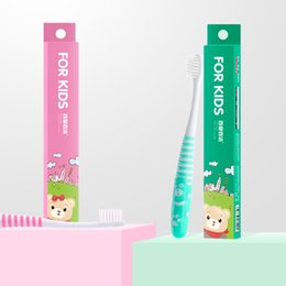$enCountryForm.capitalKeyWord NZ - Soft-bristled toothbrush for Children teeth Cartoon Character Bear Design Soft Bristle Baby Tooth Brush Oral Hygiene for Kids