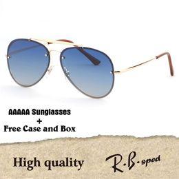 954e7fa06996c 1 pcs atacado-AAA alta qualidade marca de luxo gradiente óculos polarizados  homens mulheres óculos de sol óculos oculos de sol com caixa original
