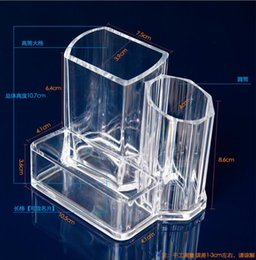 acrylic beds 2019 - Acrylic Cosmetic Organizer Lipstick Holder Display Stand Clear Makeup Case makeup organizer organizador Storage Containe