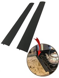 Kitchen Stove Australia - Kitchen Silicone Stove Counter Gap Cover, Easy Clean Heat Resistant Wide & Long Gap Filler, Seals Spills Between Counter, Stovetop, Oven
