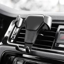 gps phone grip NZ - Gravity Car Air Vent Phone Mount Cradle Holder Stand for iphone xs max GPS phone grip