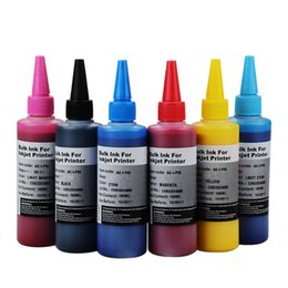 can bottle Australia - Specialized Textile Pigment INK for For R230 T50 R270 1390 100ml per bottle can printing on cotton cloth