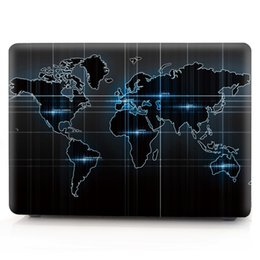 Macbook Retina 13 Inches Australia - Map-4 Oil painting Case for Apple Macbook Air 11 13 Pro Retina 12 13 15 inch Touch Bar 13 15 Laptop Cover Shell