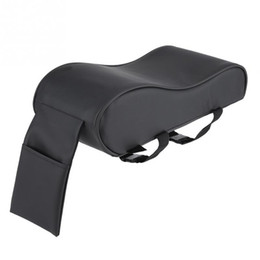 China Car Armrest Pad super Soft Universal Auto Armrests Covers Car Auto Center Console Arm Rest Seat Box Pads with Cell Phone Pocket supplier armrest auto suppliers