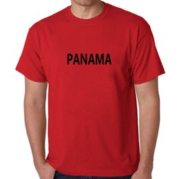 La mode masculine T-shirt PANAMA Ventilateurs Cheer T-shirt Vêtements T-shirts