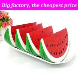 Cell kid online shopping - Squishy big watermelon huge squishies Slow Rising Soft Squeeze Cute Cell Phone Strap gift Stress children toys Decompression Toy