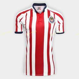 ddd01fca Guadalajara Soccer Jersey CD Chivas Men 18 19 Season 6 HERNANDEZ 17 SANCHEZ  7 PINEDA 3 SALCIDO Football Shirt Kits Make Custom