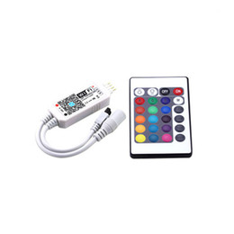 $enCountryForm.capitalKeyWord UK - free shipping 10 pcs RGBW Controllers ir RF Led Strip Controller with 21 Keys Remote Controller Google Alexa for 5050 3528 SMD