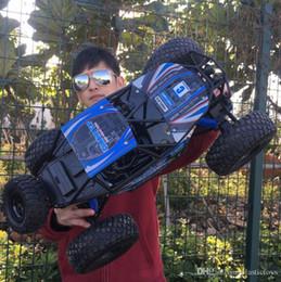 2018 Juguetes para niños 1:10 Vehículos de control remoto SUV Bigfoot que cargan automóviles eléctricos de alta velocidad para escalar. Venta al por menor o al por mayor