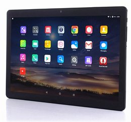 Discount mtk tablet pc sim slot Newest 3G 4G LTE Tablet PC 10.1 Inch Android 6.0 3G 4G Phone Tablets Dual SIM Slot RAM 4G ROM 32G Octa Core IPS Kids Tab