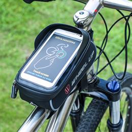 Radfahren MTB Rennrad Tasche Handyhalter Regensicher Touchscreen Fahrrad Top Rahmen Rohr Taschen Telefon Fall Bike Zubehör