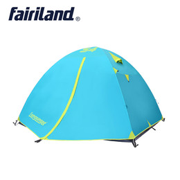 quick tents 2019 - 3 season 4 person camping tent double layer Wholesale outdoor super strong waterproof windproof camping tent discount qu