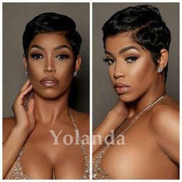 Straight half wig priceS online shopping - short hair wigs Half Price Lace cut Short bob human hair wigs with bangs inch Peruvian full lace wigs for black women