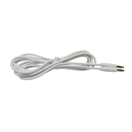 replacement audio UK - 4Ft 3.5mm Male to Male Replacement AUX Stereo Audio Cable Earphone Extension Cord for Headphones   iPhone   Samsung Galaxy, White