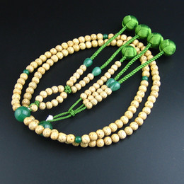 $enCountryForm.capitalKeyWord UK - Wonderful Lotus Japanese buddhist juzu nenju soka gakkai SGI beads high quality Green Aventurine and bodhi seeds L size Free Shipping