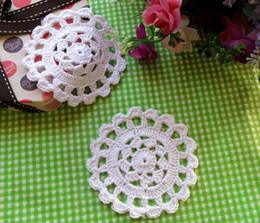 $enCountryForm.capitalKeyWord NZ - HOT DIY Round Cotton Place table mat lace pad cloth crochet glass placemat dish doilies cup mug trivet coaster Christmas kitchen