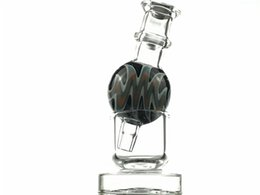 $enCountryForm.capitalKeyWord Australia - 27mm Colored Glass Colored Bubble Tube Cover for Thermal Bowl with carb caps glass Stand Quartz Thermal Banger Nails Tips Glass Bongs Dab