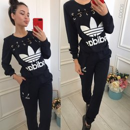 art chickens Australia - NEO Women's wear sports suit Chicken eye style yoga Sweater Long sleeves + trousers Two pieces Jogging clothes