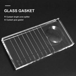 Discount crystal makeup holders - WsWLash Glass Eyelash Extension Tool Crystal Individual Eyelash Glue Holder Adhesive Glass Crystal Makeup Lash Extension