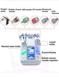 Oxygen jet facial machines online shopping - 6in1 Hydra Hydro Dermabrasion Water Oxygen jet Peeling Diamond Deep Cleansing Blackhead Remover Skin Care Hydro Facial Machine