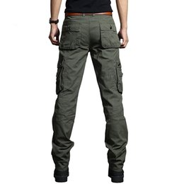 $enCountryForm.capitalKeyWord Canada - Cargo Pants Men Military Style Straight Fit Baggy Cargo Long Trousers Male Side Many Pocket Jogger Black Army Green Khaki