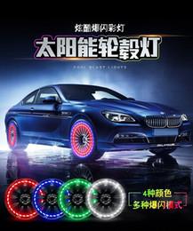 Les pneus solaires de voiture allume la valve lumières décoratives de moto en Solde