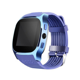 China 2018 MTK6261D T8 Bluetooth Smart Watch Pedometer TF Card Extend GSM Camera Music Player Sports Watch for Android Phone cheap t8 phone suppliers