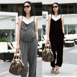 $enCountryForm.capitalKeyWord NZ - Adjustable Maternity Suspender Trousers for Pregnant Women Elastic Waist jumpsuit pregnant overalls Lady maternity clothing